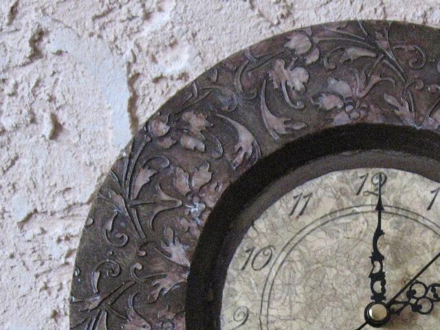 Часики декупаж под старину