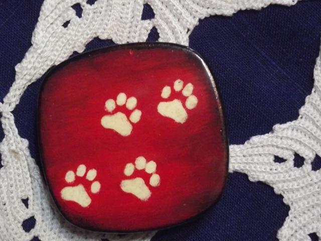 Шкатулка следы кошки (3)