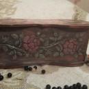 Шкатулка трафарет бордюр из роз Barocci