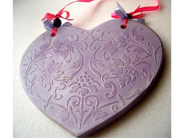 Сердечко barocci stencil
