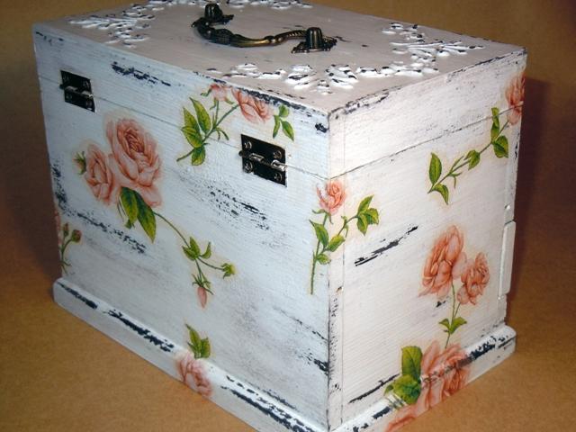 Сундучек с розами 004