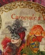 Тарелолка декоративная декупаж, трафарет Barocci (2)