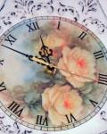 Трафарет объемный часы декупаж  (2)