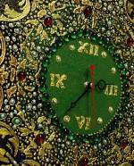 Трафарет в декупаже часы (2)