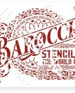 В-03 Вывеска Barocci 20х25 (18х24)