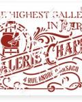 В-04 вывеска Galerie Chappe 20х25 (18х24)