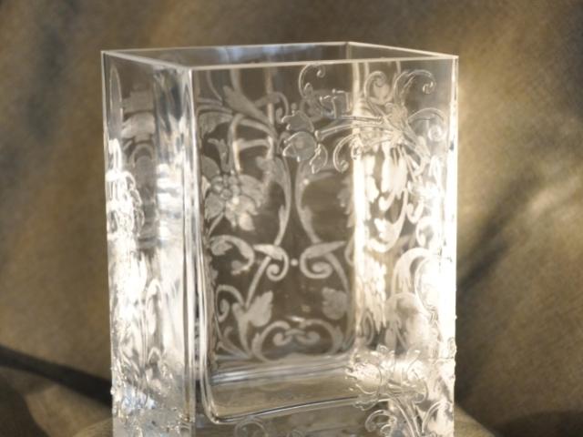 Вазон стеклянная паста (2)