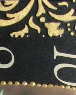 афарет в декупаже часы 13