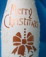 бутылка с ангелом 007р