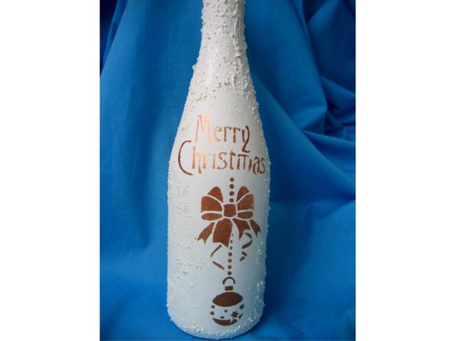бутылка с ангелом 008р