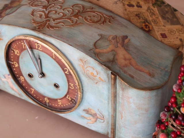 голубые часы 007