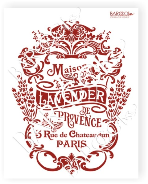 л_125 Lavender Лаванда 20х25